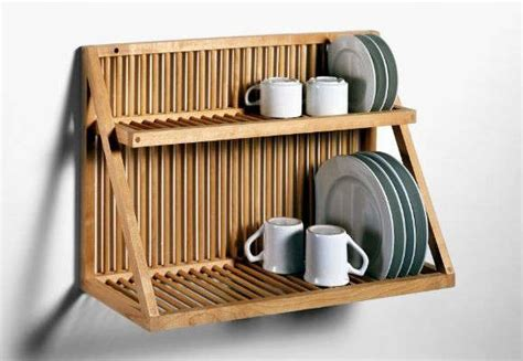 easy pieces wall mounted plate racks remodelista