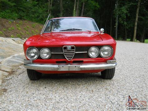 1970 Alfa Romeo European Tipo 10544 Model 1750 Gt Veloce