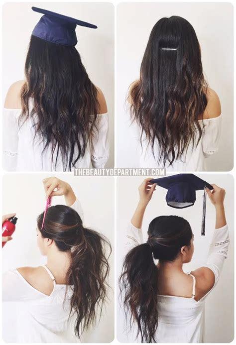 graduation hair hack h a i r graduation hairstyles