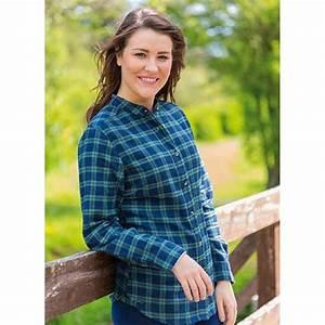 Chemise Homme Col Rond : chemise femme col rond flanelle de coton doux manches longues ~ Voncanada.com Idées de Décoration