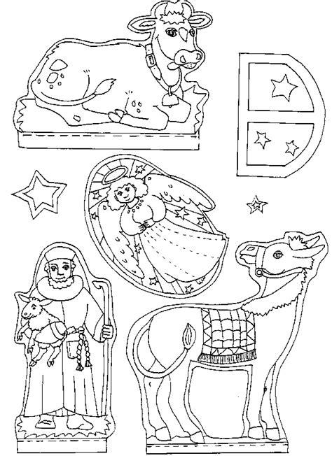 Kerststal Kleurplaat Olwassen by Knutselen Kerstmis Kerststal Maken Peuter Kleuter