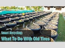 Smart Recycling What To Do With Old Tires Survivopedia