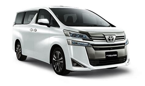 Review Toyota Vellfire by Harga New Toyota Vellfire 2019 Review Dan Spesifikasi