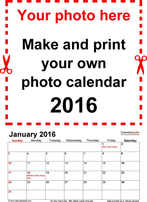 make a desk calendar with pictures make your own calendar 2017 weekly calendar template