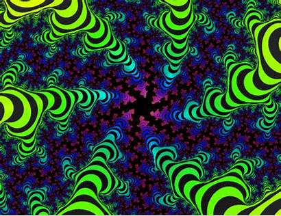 Trippy Sky Psychedelic Easter Cartoon Backgrounds