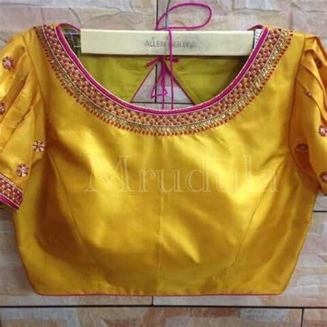 simple work stylish blouse design fancy blouse designs