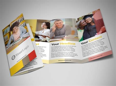 examples  education brochure designs  eps ai