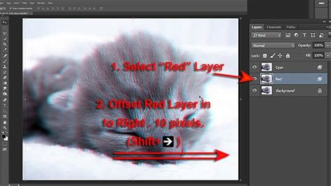 create a stereoscopic 3d effect 3d effects create 3d stereo effect in photoshop vfxmill