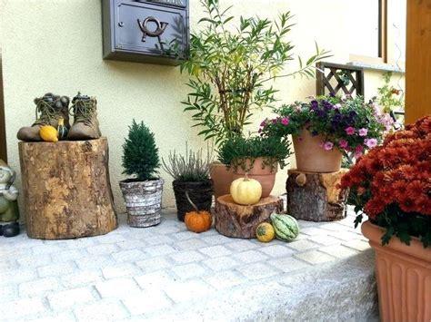 Herbstdeko Im Garten by Der Hauseingang Deko Ideen Hauseingang Winter Hauseingang
