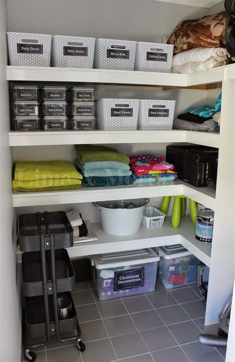 Cupboard Organization by Decorate Organise Inspire Organized Storage In 2019