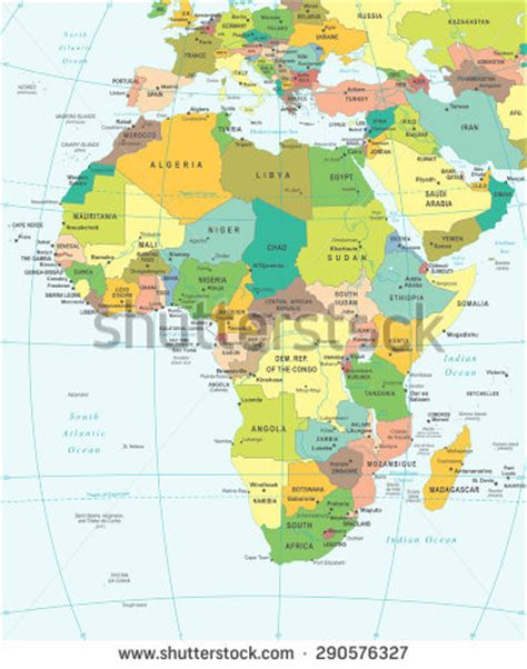 West Africa Map Stock Images, Royaltyfree Images