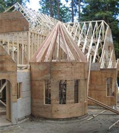 octagon floor plans framing  octagonal turret roof