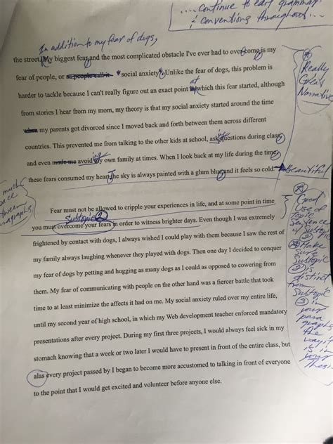 st draft  personal narrative essay jonathan martinez