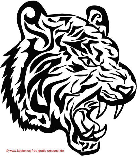 motive tiger vorlage tiger tattoos tribal motive avec tier