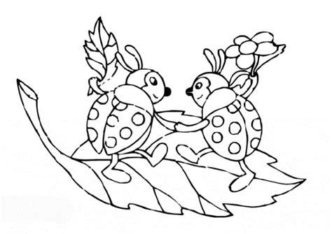ausmalbilder marienkaefer malvorlagen ausdrucken