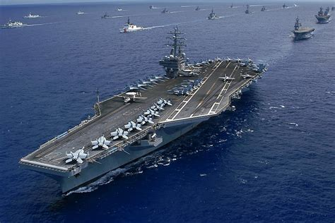 Aircraft Carrier Imax Dazzling Shots And A Chilling Plea