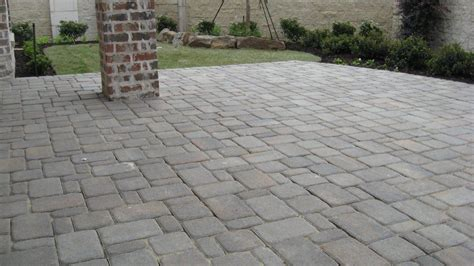 Grey Brick Pavers by How To Patio Pavers Patio Pavers Cambridge Cobble In