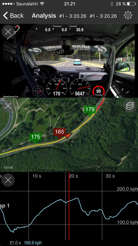 racechrono laptimer iphone android