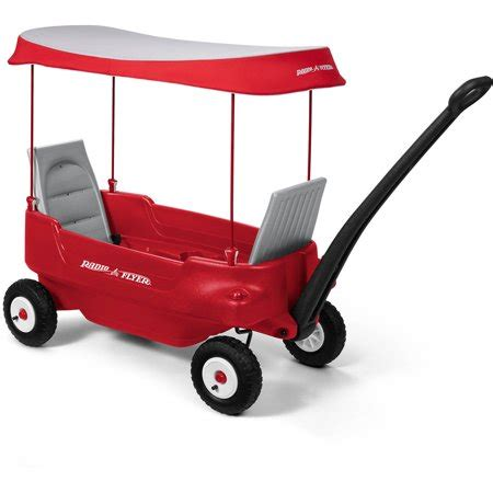 Permalink to Radio Flyer Deluxe Family Canopy Wagon
