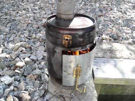 diy tent wood stove proto  youtube