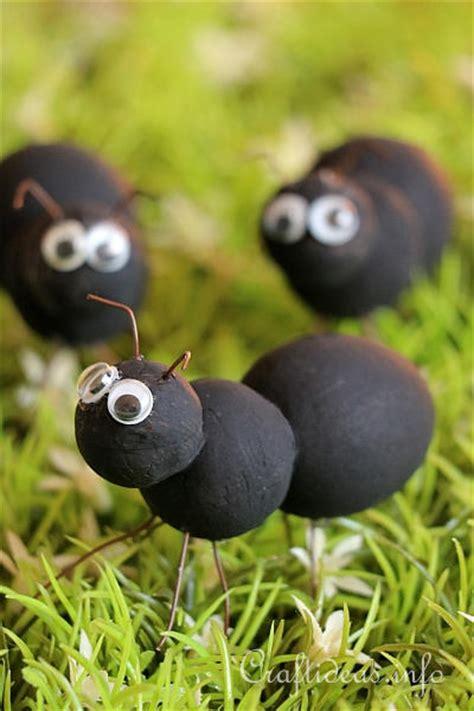 summer craft  kids ant craft