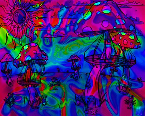Trippy Animated Wallpapers - trippy shroom wallpaper wallpapersafari
