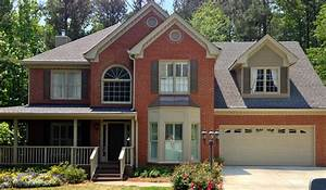 Exterior paint colors with red brick give your house a for Exterior paint colors for red brick homes