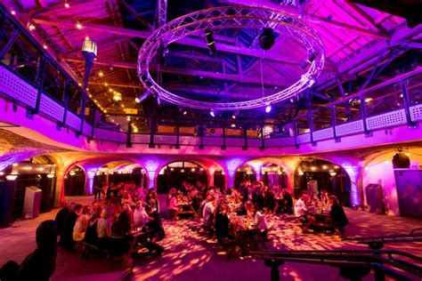 tobacco dock shared christmas party e1 crazy cow events