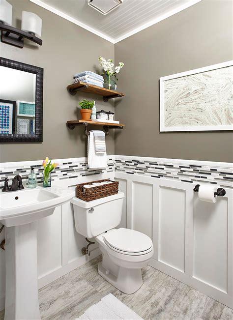 Bathroom Ideas Half Baths by Powder Room Ideas Better Homes Gardens