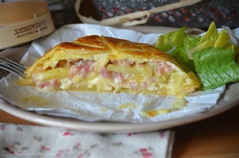 camembert en cro 251 te aux lardons et pommes de terre le de c est nathalie qui cuisine