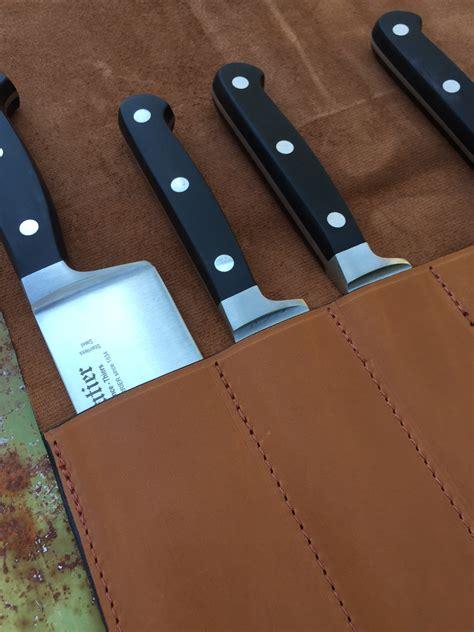 pochette pour couteaux de cuisine bloc et coffret de rangement de couteaux de cuisine