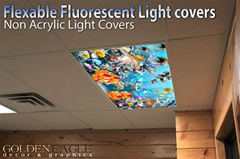 Drop Ceiling Light Covers by Reef 3 Drop Ceiling Fluorescent Decorative