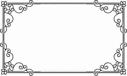 Frame Rectangular Rectangle Transparent Border Square Pngio