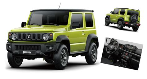 2019 Suzuki Jimny by 2019 Suzuki Jimny Official Images And Details