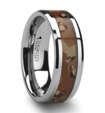 military wedding bands  men