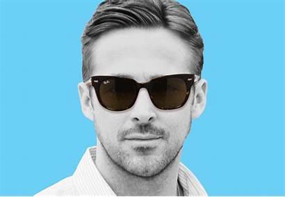 Sunglasses Gq Ryan Gosling Face Wayfarers Aviators