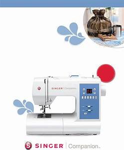 Singer Sewing Machine 7465 User Guide