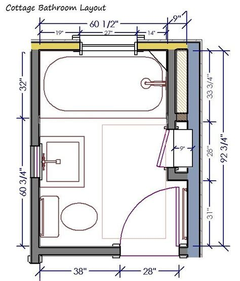 Small Bathroom Plans 5 X 7 by Best 25 5x7 Bathroom Layout Ideas On Box