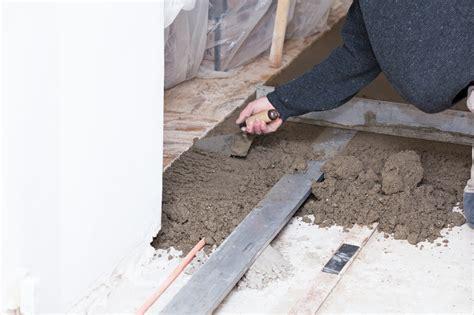 terrassenplatten auf beton verlegen   schritten