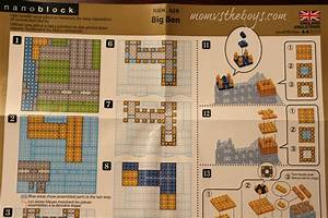 Nanoblocks Micro Building Sets