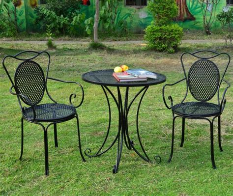 compare prices on small metal outdoor table