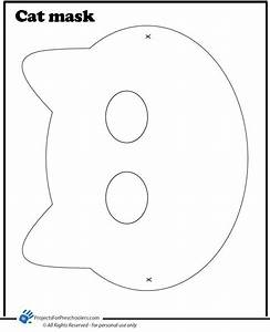 cat mask coloring page theme pete the cat art With caterpillar mask template