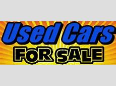 Used Car banners Advertise your used car dealership for