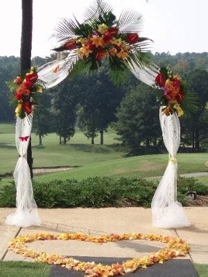 need help decorating wedding arch weddings do it