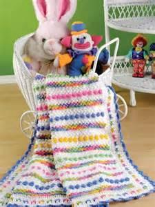 Cotton Candy Baby Blanket Crochet Pattern