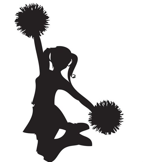 Image result for Cheer Silhouette