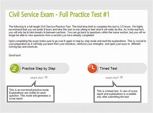Civil Service Practice Test  U0026 Guides By Profession