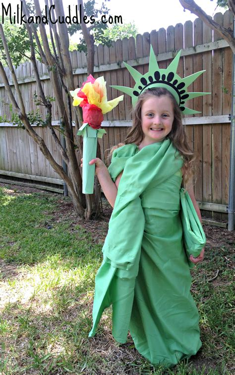 Statue Of Liberty Craft Costume Liberty And History Facts