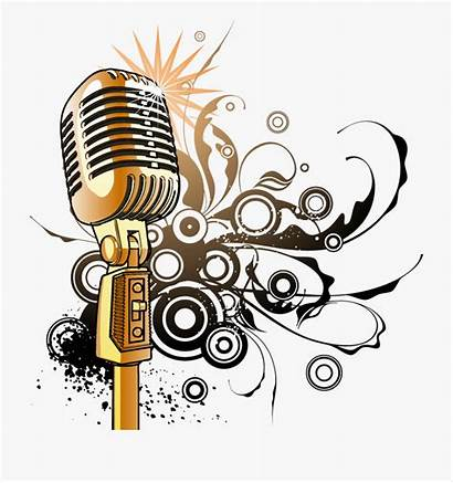 Microphone Clipart Note Notes Transparent
