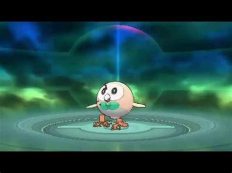 rowlett evolves pokemon sun  moon gameplay youtube